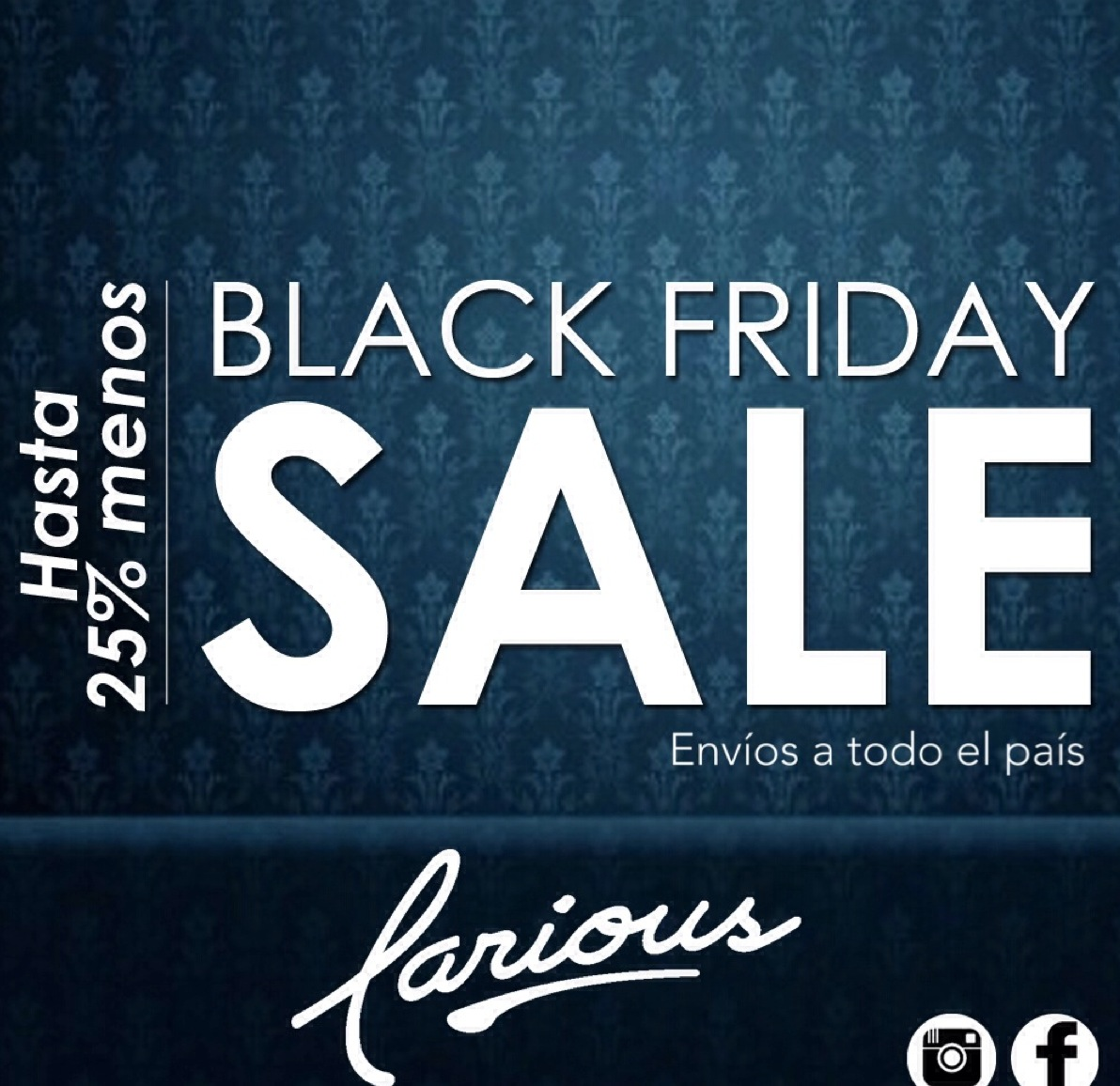 Black Friday Sale - Hasta 25% menos en Larious Chitre